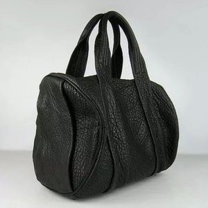 """Alexander Wang """"The Rocco"""" textured-leather tote"""